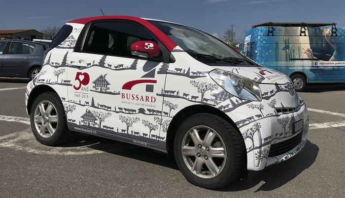 Publicité sur véhicule marquage-publicitaire-vehicule-poya-bulle