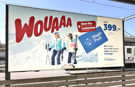 Impression d'affiches papier grand format Fribourg vaud